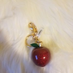 NWT Coach Apple bag charm /keychain